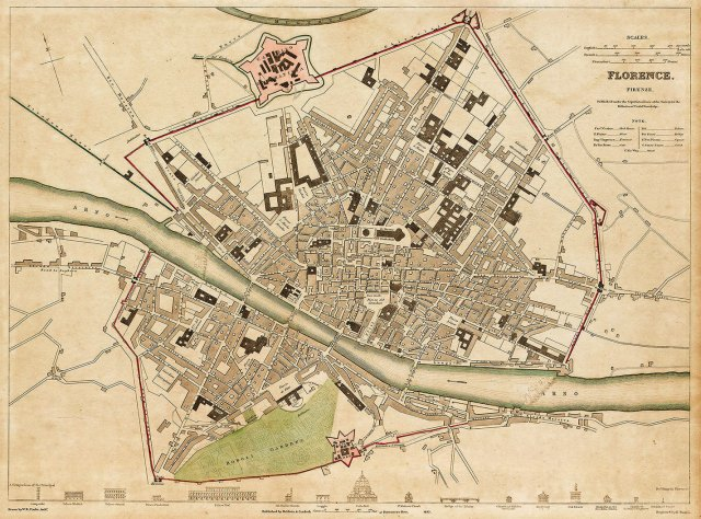 florence map.