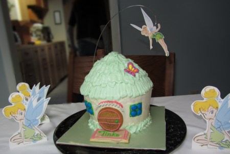 tinkerbell's house.
