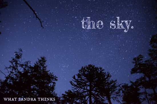 the sky. a poem by sandra. whatsandrathinks.com