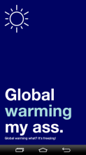 global warming...