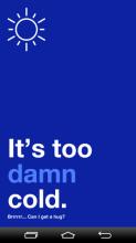 It's too damn...