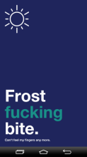 frost...