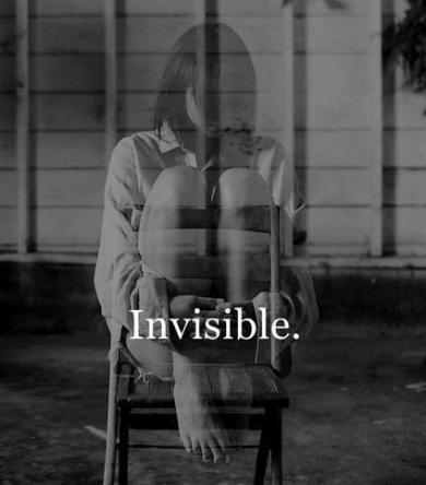 invisible.