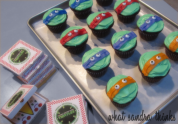 tmnt cupcakes.