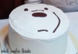 ice bear cake.