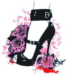 vamp heel.