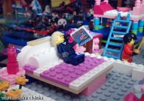 lego bedroom.