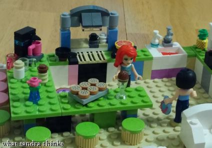 lego kitchen.