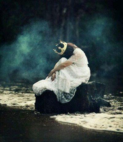 sad princess.