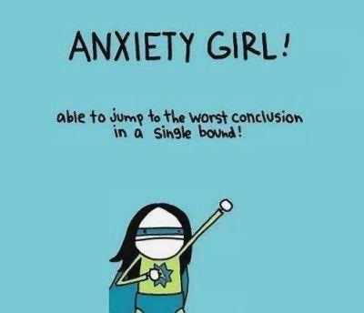 anxiety girl.