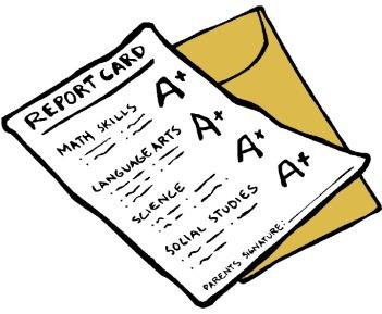 report card.