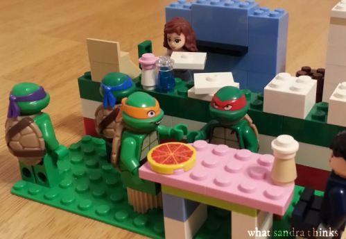 tmnt lego pizza.