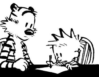 calvin and hobbes.