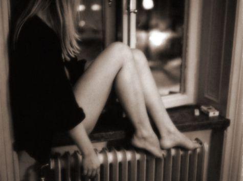window girl.