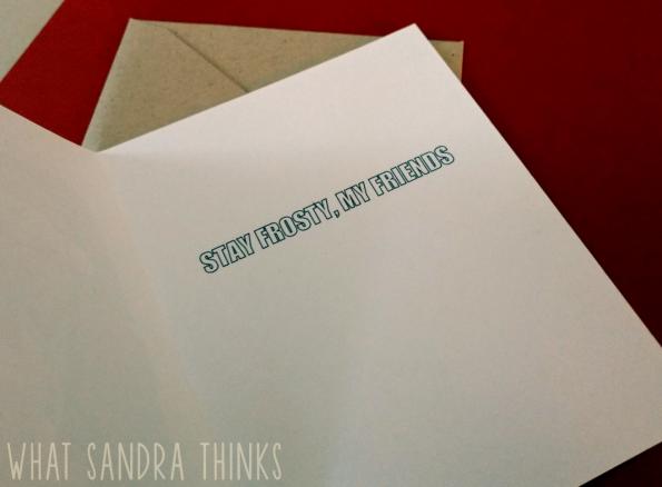 xmas | what sandra thinks