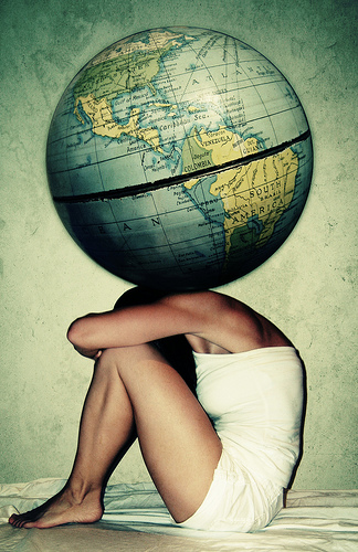 weight of the world.