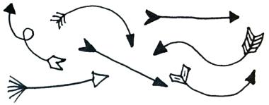 doodle arrows.