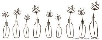 bottle twigs