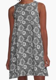 Mod Floral Dress